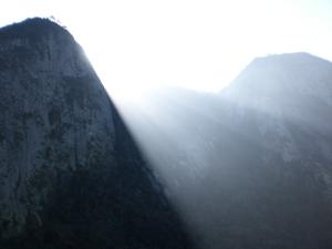 luz natural para o tempo