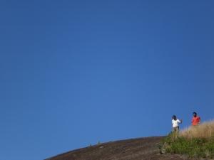 """gravação do filme """"não existem profetas"""". foto tirada por Lana."""